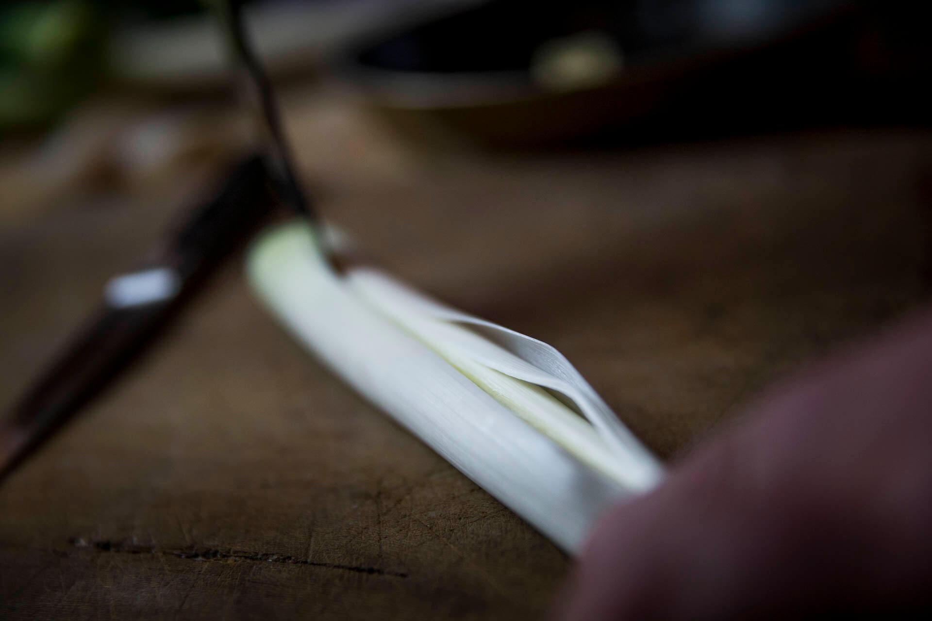 Recette écrasé de pomme de terre vitelottes Créaline purée fraiche