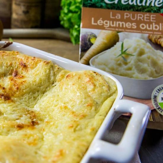 Recette végétarienne : lasagnes de légumes oubliés végétariennes, une savoureuse recette par Créaline