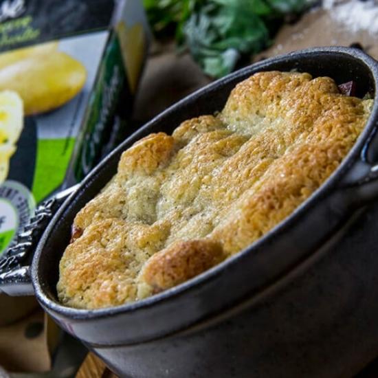 Ecrasé de pommes de terre façon crumble : une recette Créaline simple et savoureuse à réaliser