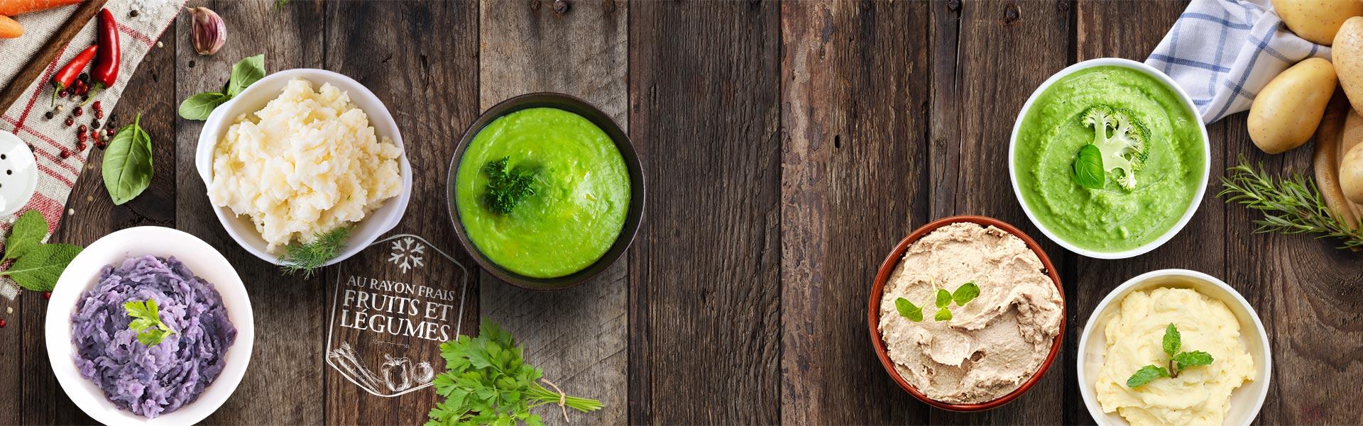 Les purées Créaline : de délicieuses purées de légumes au rayon frais