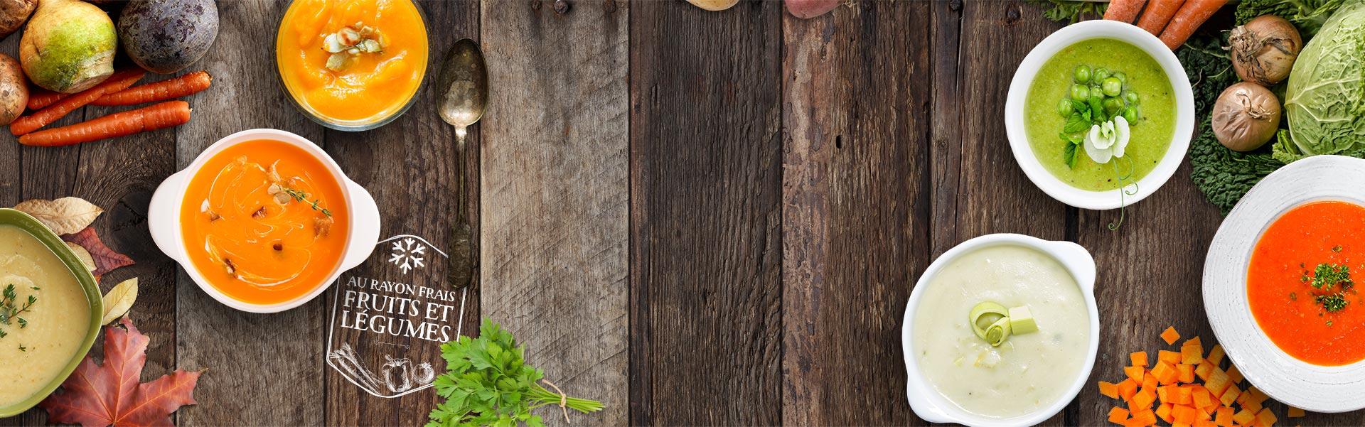 Les soupes Créaline : de délicieuses soupes de légumes au rayon frais