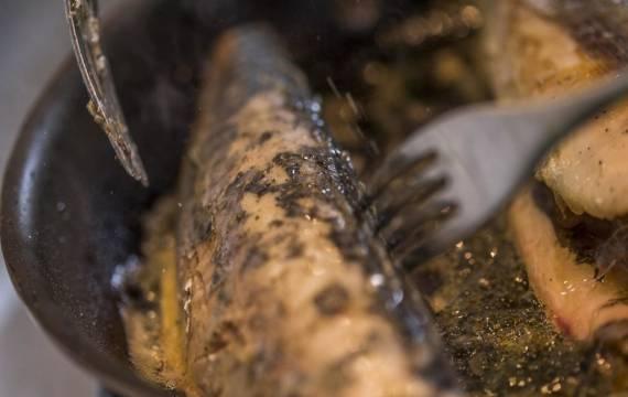Créaline recette de saison velouté 7 légumes du potager et poisson de nos côtes