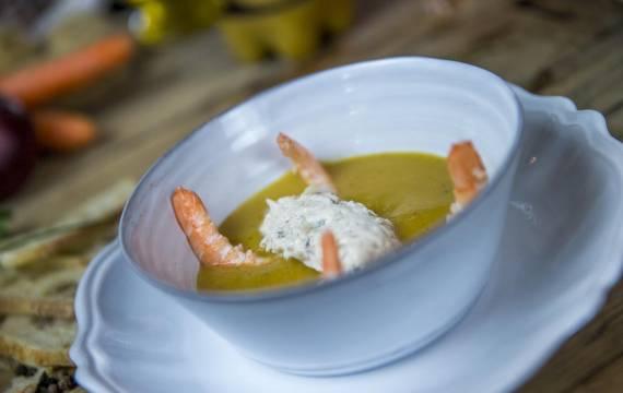 Une recette par Créaline : le velouté de légumes et poisson de nos côtes