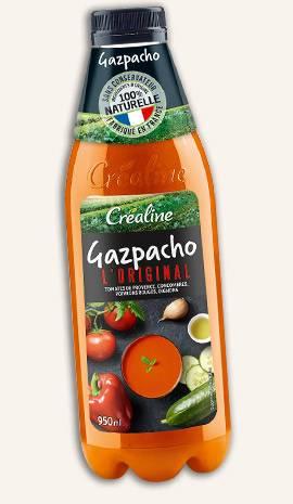 Gazpacho l'original : le gazpacho au rayon frais par Créaline