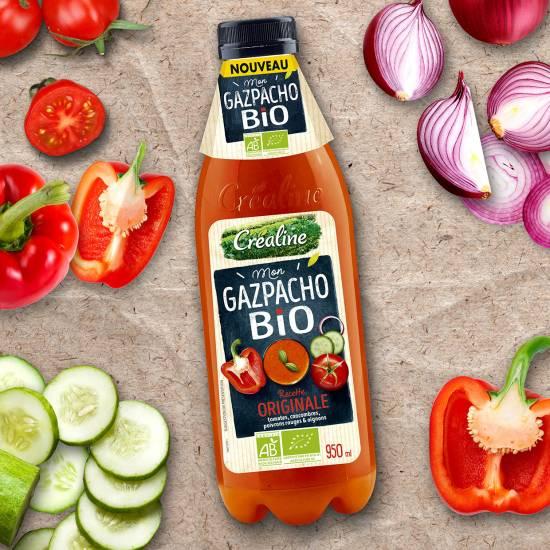 Gazpacho bio au rayon frais : une soupe froide Bio idéale pour l'été