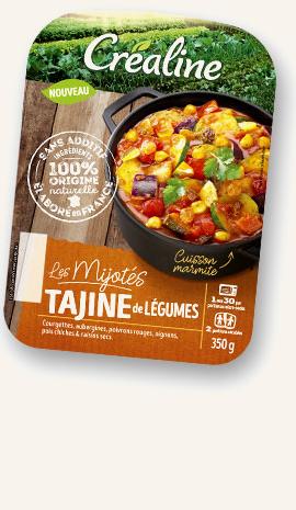 Mijoté Tajine au rayon frais Créaline