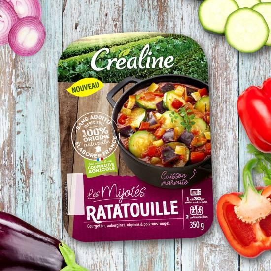 La ratatouille : un mijoté de ratatouille au rayon frais par Créaline