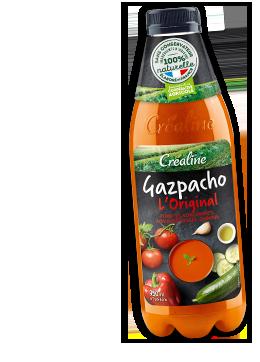Gazpachos Créaline : de savoureux gazpachos au rayon frais