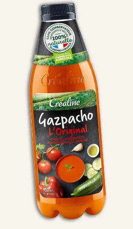 Gazpacho l'Original : un savoureux gazpacho à déguster bien frais