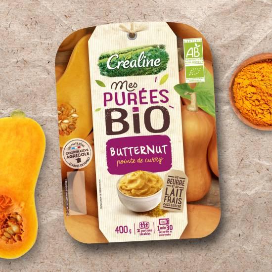 Purée de butternut bio : une recette de purée bio par Créaline