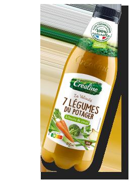 Velouté 7 légumes du potager : recette de soupe Créaline