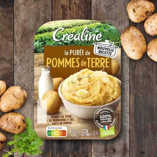 purée de pommes de terre