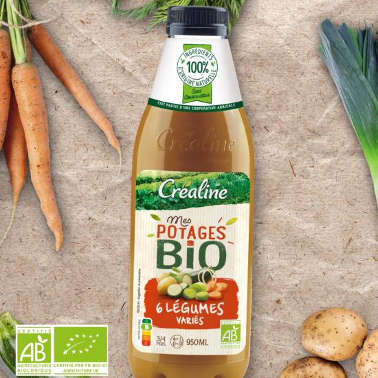 soupe 6 legumes bio crealine rayon frais naturelle